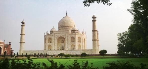 Taj Mahal, Agra (pic)